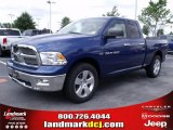 2011 Deep Water Blue Pearl Dodge Ram 1500 Big Horn Quad Cab #35552194