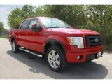 2010 Vermillion Red Ford F150 FX4 SuperCrew 4x4 #35551847
