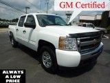 2009 Summit White Chevrolet Silverado 1500 LS Crew Cab 4x4 #35551442