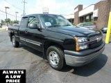 2003 Black Chevrolet Silverado 1500 LS Extended Cab 4x4 #35551444