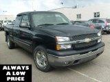 2005 Black Chevrolet Silverado 1500 Z71 Extended Cab 4x4 #35551445