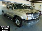 2004 Silver Birch Metallic Chevrolet Silverado 1500 Z71 Extended Cab 4x4 #35551451