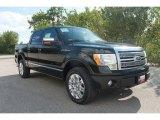 2010 Tuxedo Black Ford F150 Platinum SuperCrew 4x4 #35551876