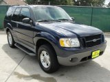2003 True Blue Metallic Ford Explorer Sport XLS 4x4 #35552301