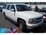 2001 Summit White Chevrolet Suburban 1500 LT #35552319