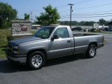 2007 Graystone Metallic Chevrolet Silverado 1500 Classic Work Truck Regular Cab #35552395