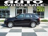 2011 Ebony Black Kia Sorento LX AWD #35670081
