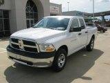 2011 Bright White Dodge Ram 1500 ST Quad Cab 4x4 #35670089