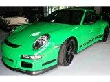 2007 Porsche 911 Green/Black