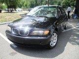 2002 Jet Black BMW 3 Series 325xi Sedan #35552973