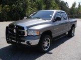 2005 Mineral Gray Metallic Dodge Ram 1500 SLT Quad Cab 4x4 #35670279