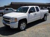 2011 Summit White Chevrolet Silverado 1500 LT Extended Cab 4x4 #35670290