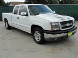 2003 Summit White Chevrolet Silverado 1500 LT Extended Cab #35669969