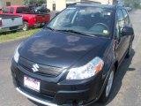 2007 Black Onyx Pearl Suzuki SX4 Convenience AWD #35669784