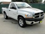2006 Bright White Dodge Ram 1500 SLT Regular Cab #35669972