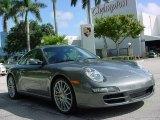 2007 Meteor Grey Metallic Porsche 911 Carrera S Coupe #351960