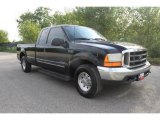 2000 Black Ford F250 Super Duty XLT Extended Cab #35719270