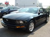 2007 Black Ford Mustang V6 Deluxe Coupe #35719025