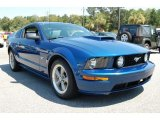 2006 Vista Blue Metallic Ford Mustang GT Deluxe Coupe #35719494