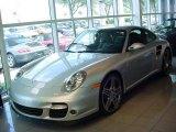 2007 Arctic Silver Metallic Porsche 911 Turbo Coupe #351989