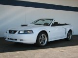 2003 Oxford White Ford Mustang GT Convertible #35719552