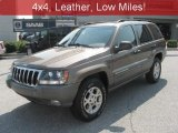 2002 Woodland Brown Satin Glow Jeep Grand Cherokee Sport 4x4 #35719063