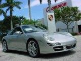 2007 Arctic Silver Metallic Porsche 911 Carrera S Coupe #351993
