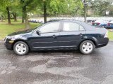2008 Dark Blue Ink Metallic Ford Fusion SE #35719887