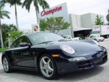 2007 Midnight Blue Metallic Porsche 911 Carrera 4 Coupe #351996