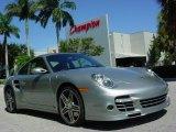 2007 GT Silver Metallic Porsche 911 Turbo Coupe #351998