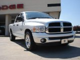 2003 Bright White Dodge Ram 1500 SLT Quad Cab #35719687