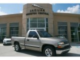 2000 Light Pewter Metallic Chevrolet Silverado 1500 Regular Cab #35719973