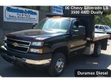 2006 Chevrolet Silverado 3500 LS Regular Cab 4x4 Chassis Data, Info and Specs