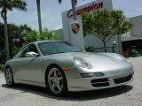 2007 Arctic Silver Metallic Porsche 911 Carrera Coupe #352004