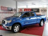 2007 Blue Streak Metallic Toyota Tundra SR5 TRD Double Cab 4x4 #35720027