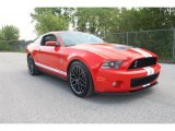 2011 Race Red Ford Mustang Shelby GT500 SVT Performance Package Coupe #35719252