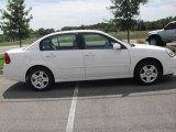 2007 White Chevrolet Malibu LT Sedan #35788875