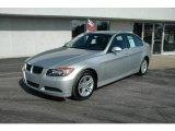2008 Titanium Silver Metallic BMW 3 Series 328i Sedan #3571073