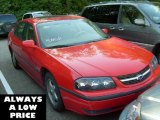 2001 Torch Red Chevrolet Impala LS #35788187