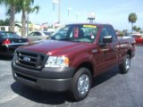 2006 Dark Toreador Red Metallic Ford F150 XL Regular Cab #35788579