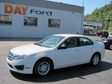 2010 White Suede Ford Fusion S #35788585
