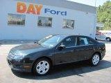 2010 Atlantis Green Metallic Ford Fusion SE #35788587