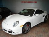 2008 Carrara White Porsche 911 Turbo Coupe #351933
