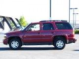 2005 Sport Red Metallic Chevrolet Tahoe Z71 4x4 #35789306