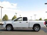 2008 Bright White Dodge Ram 1500 SLT Quad Cab 4x4 #35789307