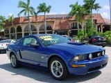 2006 Vista Blue Metallic Ford Mustang GT Deluxe Coupe #35788617