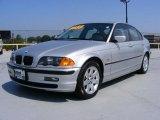 2001 Titanium Silver Metallic BMW 3 Series 325i Sedan #35789354