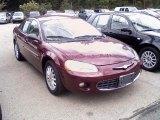 2001 Chrysler Sebring Dark Garnet Red Pearlcoat