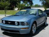 2007 Windveil Blue Metallic Ford Mustang GT Premium Coupe #35788689