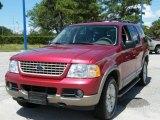 2003 Redfire Metallic Ford Explorer Eddie Bauer 4x4 #35788697